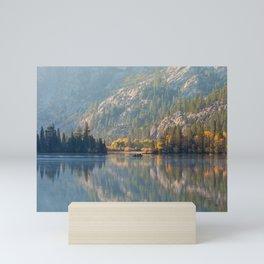 Morning at Silver Lake Mini Art Print