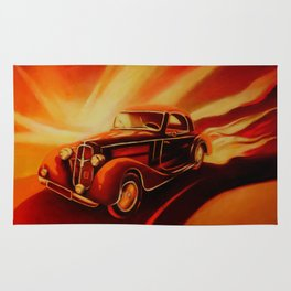Classic Car - Retro Cars Rug
