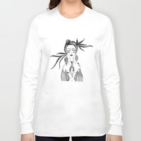 native Long Sleeve T-shirts featuring NATIVE  by Adriana Mateus