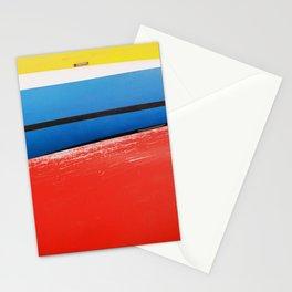 GRAND RESORT SERIES. Boats, Piran, Mediterranean Sea, Color Film Photo Stationery Cards