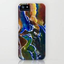 Good Luck Series: A vibrant glory iPhone Case