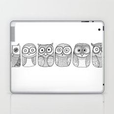 Six Pack (owl collective) Laptop & iPad Skin
