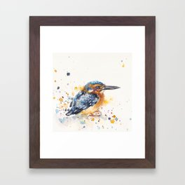 Kingfisher Lane Framed Art Print
