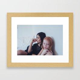 Karina and Angelique Framed Art Print