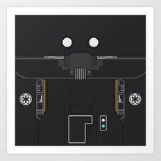 Minimal K-2SO Droid Art Print