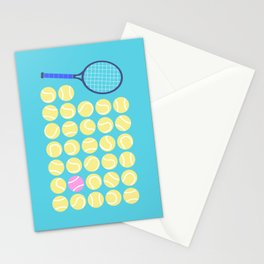 A Pink Tennis Ball in the Rough Stationery Cards
