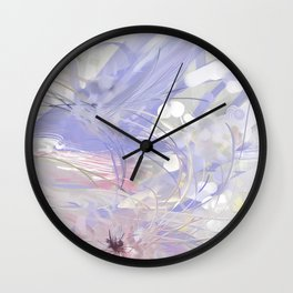 Calm Blossom Wall Clock