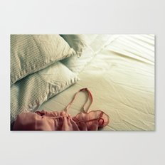 Bed Clothes Canvas Print