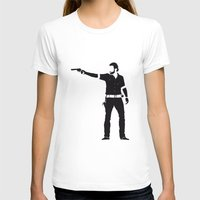 rick grimes T-shirts featuring Rick by the minimalist
