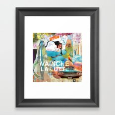 VAINCRE LA LUTTE Framed Art Print