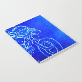 Astronaut Bicycle 2 Notebook