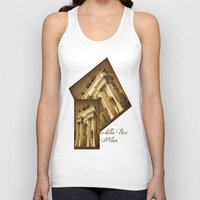 lee pace Tank Tops featuring Arco della Pace Milan by Louisa Catharine Photography