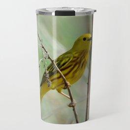 Yellow Warbler Travel Mug