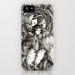 Harpy sisters iPhone Case