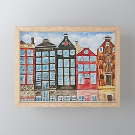 Amsterdam Framed Mini Art Print