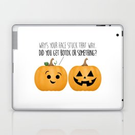 Pumpkin Botox Laptop & iPad Skin