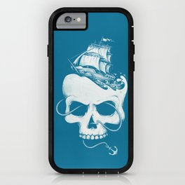 Sailing the Dead Sea iPhone Case