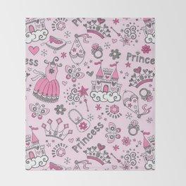 Princess Mania Throw Blanket