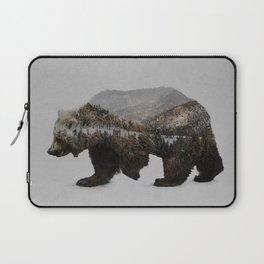 The Kodiak Brown Bear Laptop Sleeve