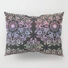 hand draw coloring mandala Pillow Sham