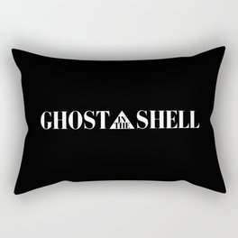 Ghost In The Shell Title (White) Rectangular Pillow