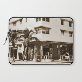 Collins Avenue, Miami Beach Laptop Sleeve