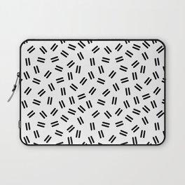 Postmodern Ants in White Laptop Sleeve