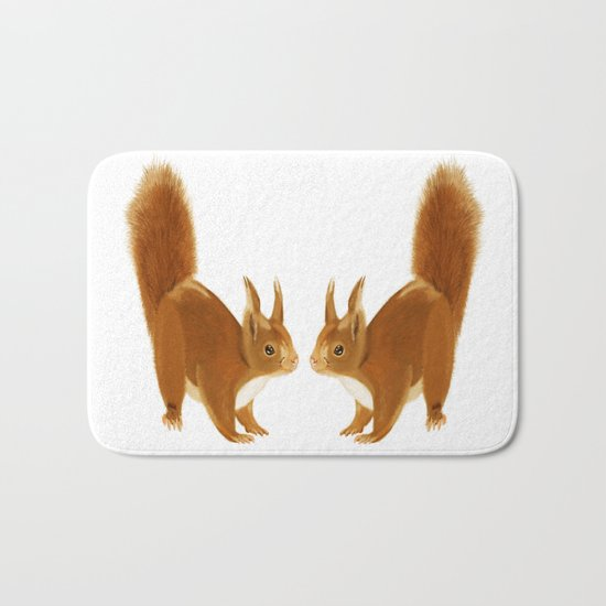 Squirrel Bath Mat
