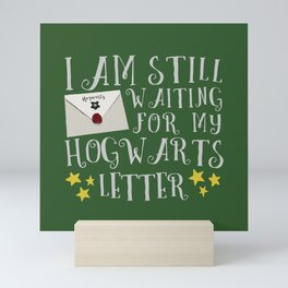 Waiting For My Letter - S Mini Art Print