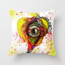 Heart Rhythm Throw Pillow