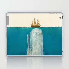 The Whale - colour option Laptop & iPad Skin