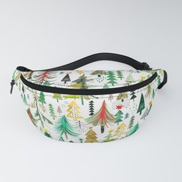 Christmas trees decorations Fanny Pack