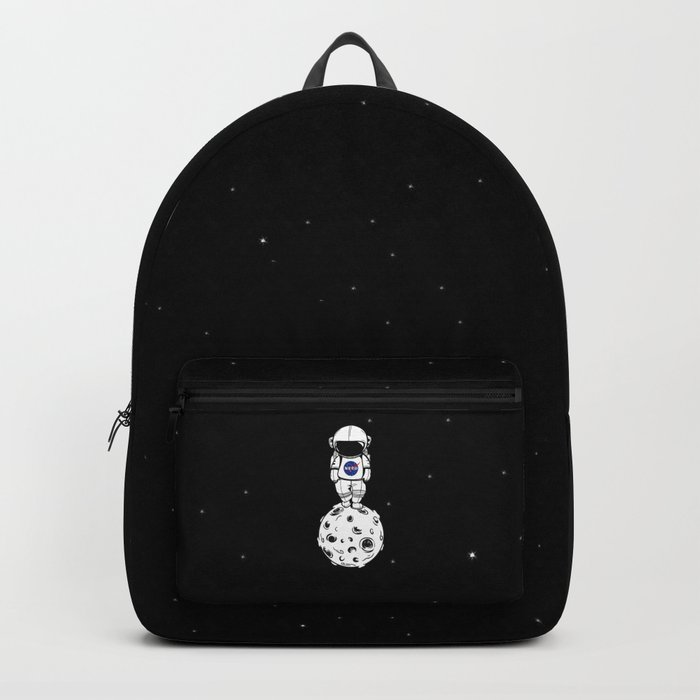 rolling in space Backpack