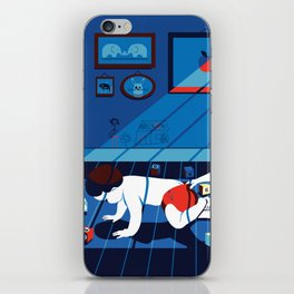brother and sister iPhone Skin