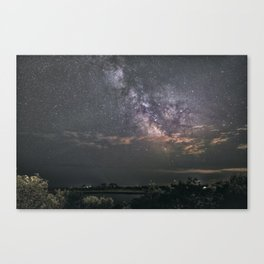 Milkyway at Loblolly Cove Canvas Print