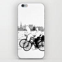 copenhagen iPhone & iPod Skins featuring Copenhagen by sarknoem