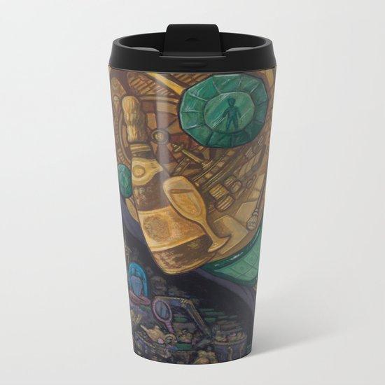 The Hard Sell Metal Travel Mug