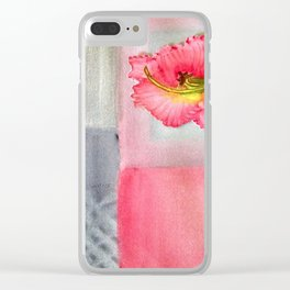 Ruffles and Blocks Clear iPhone Case
