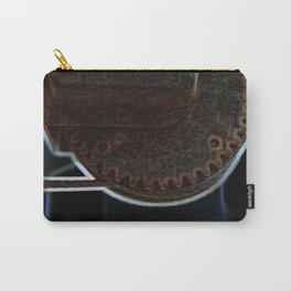 Circular Corrosion Carry-All Pouch