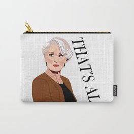 That's All Carry-All Pouch