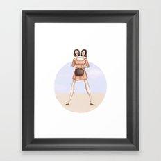 Freakshow (alphabet series TV) Framed Art Print