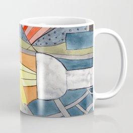 Interior with Two Lamps Coffee Mug