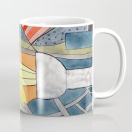 Interior with Two Lamps Coffee Mug