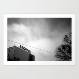 Storage Art Print