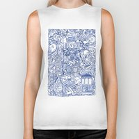 portugal Biker Tanks featuring Portugal collage by Kaissa Kkaissa