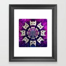 cat-554 Framed Art Print