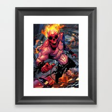The Rider Framed Art Print