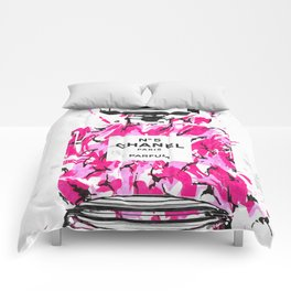 No 5 Pink Army Comforters