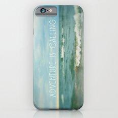Adventure is Calling - Waves iPhone 6 Slim Case