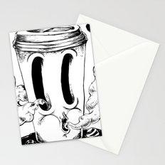 BLACK COFFEE Stationery Cards